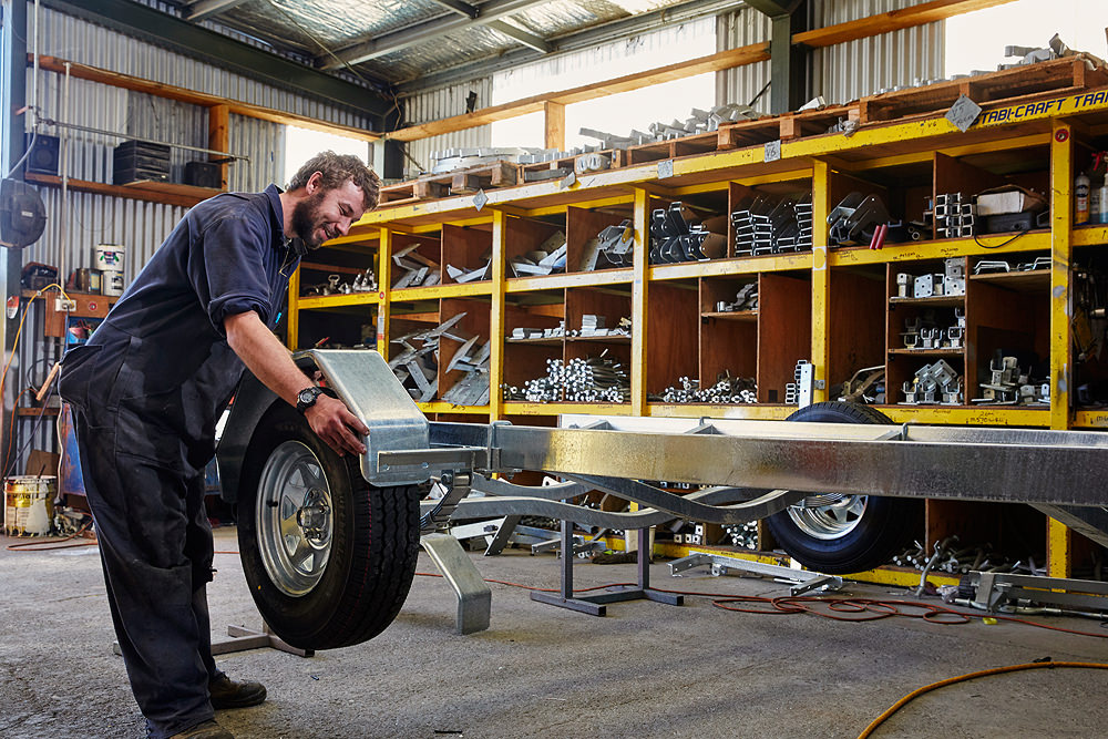 Mudgway Trailer assembly