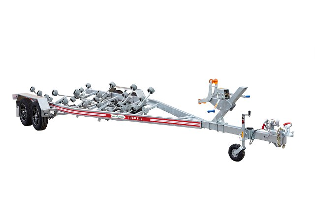 Mudgway tandem axle boat trailer